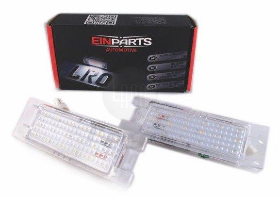 Lampki LED podświetlenia tablicy rejestracyjnej OPEL Astra H J K Corsa C D Insignia Zafira B Meriva A Tigra B Vectra C Hyundai I20