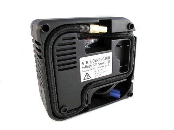 Starter akumulatorowy z funkcją power banku i kompresorem. Mocny 12 000 mAh JS207K
